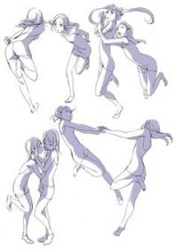 character dancing pose poses reference drawing anime figure sketches uploaded user pixiv illustration community service variety enjoy creative manga contests