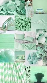 aesthetic pastel background wallpapers turquoise trendy