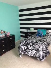 Turquoise Gold Black And White Bedroom Novocom Top