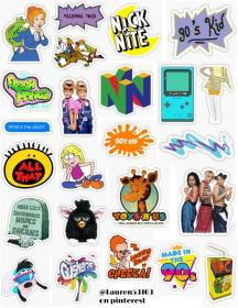 90s kid stickers growing up in the 90s only 90s kid disney