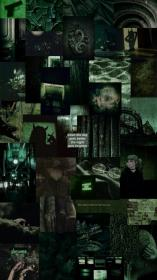 Dark green aesthetic collage (With images) Dark green