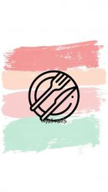 instagram colors highlight covers pastel highlights icons icon story pink insta tumblr food template visit saying photography pages travel