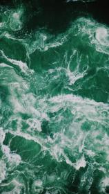 aesthetic iphone dark wallpapers sea backgrounds navy colors google plain slytherin water fondos collage обои зеРеные rainbow environmental mint think