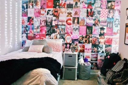 Collage Wall Kit Picture wall bedroom, Dorm room