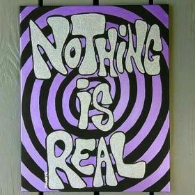 trippy painting hippie easy canvas drawings acrylic paintings drawing psychedelic aesthetic paint draw kunst leinwand nothing alien acid dibujos ideen