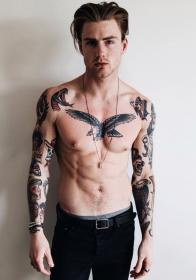 25 Awesome Tattoo Ideas To Express Yourself Torso