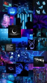 neon aesthetic iphone ios laptop phone collage desktop wallpapers edgy