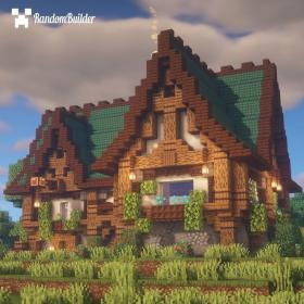minecraft medieval inn cottage houses spend would night follow amazing blueprints gemerkt findpins legominecraft