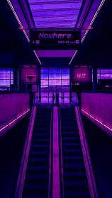 aesthetic violet backgrounds nowhere