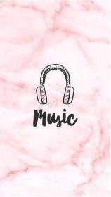 music instagram pink marble highlights cute wallpapers highlight icons pretty backgrounds story phone vibes