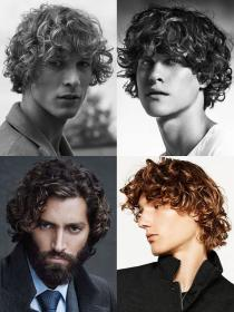 curly hair hairstyles grow mens perm growing styles boy cuts curls boys trendy beard sides therighthairstyles fashionbeans
