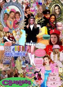 clueless 90s collage magazine girly aesthetic iphone 90 google wallpapers backgrounds drive movies 2000 parede papel murphy brittany chick para