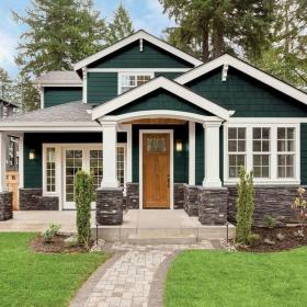 exterior paint cottage ppg trends depot timeless coat primer night foot square tips living colors gloss semi doors modern farmhouse
