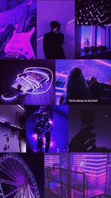 purple wallpapers aesthetic backgrounds phone pastel vsco fondos pantalla iphone edgy collage ios marie
