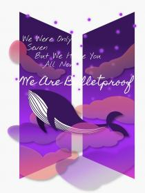 We Are Bulletproof The Eternal Sticker by 7Chiina Bts