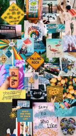 vsco collage wallpapers aesthetic iphone laptop fondos pantalla collages backgrounds pastel vibes fondo sayings chicas parede papel hintergrund fond dibujos