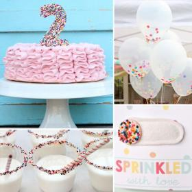 birthday party sprinkles sweet second parties themes inspired sprinkle popsugar themed moms theme 2nd turning toddler cute decor baby cake