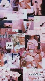 aesthetic pastel collage pink wallpapers hd wall paper desktop cute iphone backgrounds abstract vsco ph theglamourlady ru