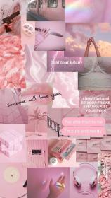 Aesthetic pastel wallpaper image by Ariana Grande
