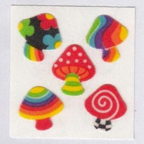 trippy mushroom mushrooms indie aesthetic drawing stickers sticker painting hippie pattern sandylion 1980 unif psychedelic shi peace tattoos collage copied