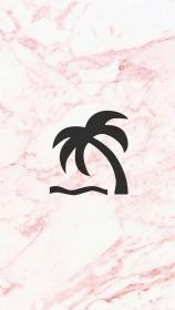 Iphone Rose Gold Instagram Marble Highlight Cute Wallpapers