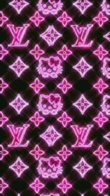 aesthetic pink iphone baddie louis vuitton background trippy trendy kitty hello wallpapers backgrounds retro phone pastel macbook follow