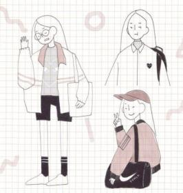 drawings illustration aesthetic korean drawing cute things pretty character visit artists sketches