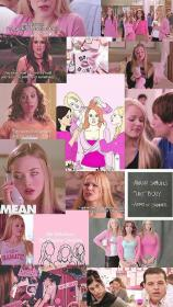 mean pink wallpapers mood iphone aesthetic 90s collage trendy discover