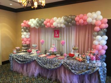 Pink, Gray and White Baby Shower for Liliana🍼 Minnie