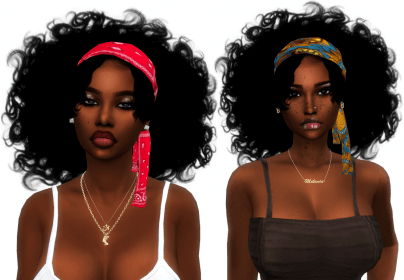 xxblacksims messy hair curly sims hairstyles natural fro 4c cc mya sim curlyfro womens