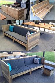 pallets pallet couch bench sofa wooden build lounge plans chairs shelves benches yourhomefurnishing woodpalletcreations