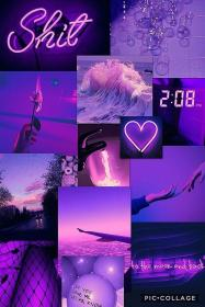 aesthetic purple pastel iphone aesthetics background wallpapers 2005 backgrounds aesthetically collage most neon sfondi lilla retro glitter desktop quotes phone