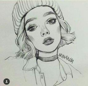 drawing drawings sketch pencil instagram sketches portrait realistic figure daily portraits draw искусство карандашное sketching self face artistic visit rose