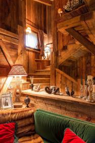 duplex cabin log homes cortina ampezzo slide story rustic wood nytimes dolomites cottage apartment cozy woods go chalet outside cabins