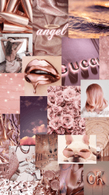 aesthetic rose backgrounds iphone wallpapers glam pastel collage unique phone poster simple icu 9tem1