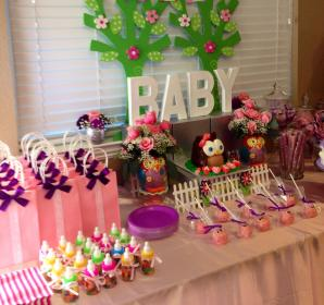shower candy bar owl table bars buffet showers parties chocolate favors babies babyshower games boy themed elegant