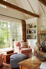 living cozy natural european farmhouse rustic decor wood anne hepfer cottage country rooms annehepfer cosy modern lighting furniture accents decorating