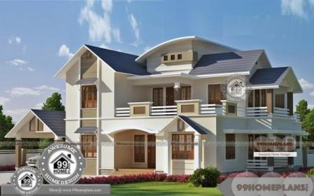 upstairs storey double homes balcony plans spacious plan 99homeplans floor three excellent