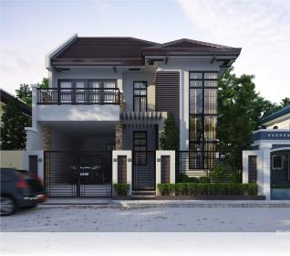 Pics For > Modern Two Storey House Design Minimalist