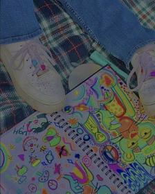 indie aesthetic kid filter drawings cool clothes forces collage follow shoe estilo trendy nike retro bedroom kaylaaa