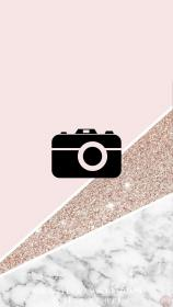 PINK GLITTER MARBLE INSTAGRAM HIGHLIGHT ICONS BY