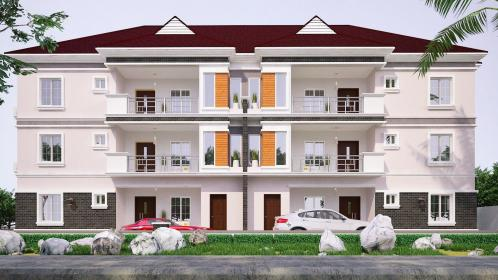 bedroom storey plans flats architectural block units building apartment mansion floors double architecture plot rooms semidetached proposed layout duplex facade