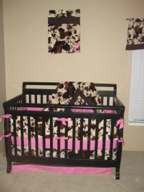nursery bedding themed room cowgirl crib cow baby cowboy country she rooms daughter horse born western before son nurseries teal