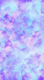 purple wallpapers pastel cute background kawaii watercolor aesthetic phone pretty pink iphone backgrounds light pastell galaxy parede girly screen colorful
