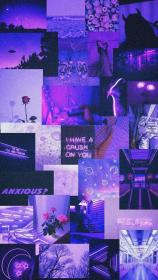 collage purple aesthetic wallpapers baddie dark iphone onlyfans purplewallpaper purpleaesthetic backgrounds bad 4x6 aesthetics pastel da patterns