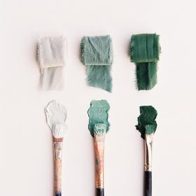 Moss Greens Paint Slytherin aesthetic, Green aesthetic