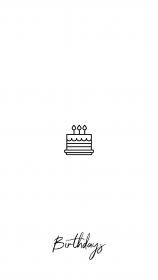 instagram birthday icon highlights story cute tumblr birthdays simple iconos covered icons drawings cartoon wallpapers backgrounds visit login 收藏自 others