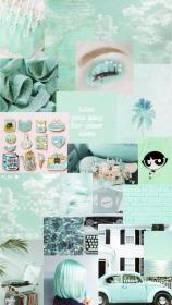 aesthetic mint wallpapers iphone pastel fondos pantalla backgrounds morados aqua quotes frauentaschen site patterns aestheticwallpapers nicehaircolor