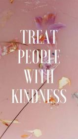 harry styles kindness quotes treat quote iphone pink aesthetic lyrics wallpapers backgrounds webstaqram words instagram trendy homescreen perri funny because