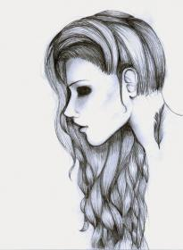 pencil drawings easy creepy google cool drawing scary sketches faces discover